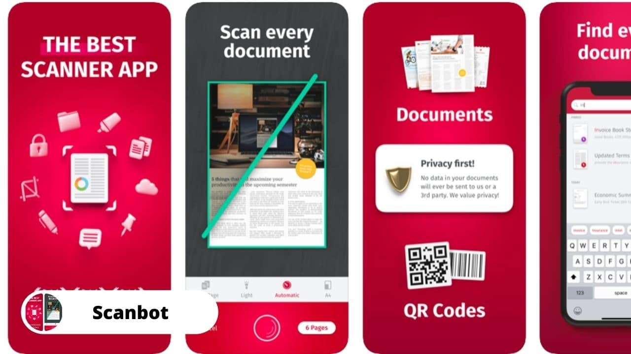 Scanbot - Best Alternative Apps for CamScanner
