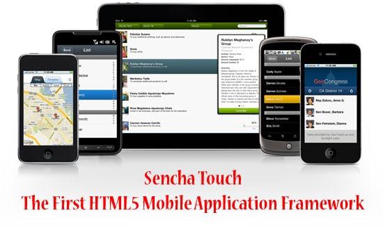 HTML5 Mobile Application Framework - Sencha Touch