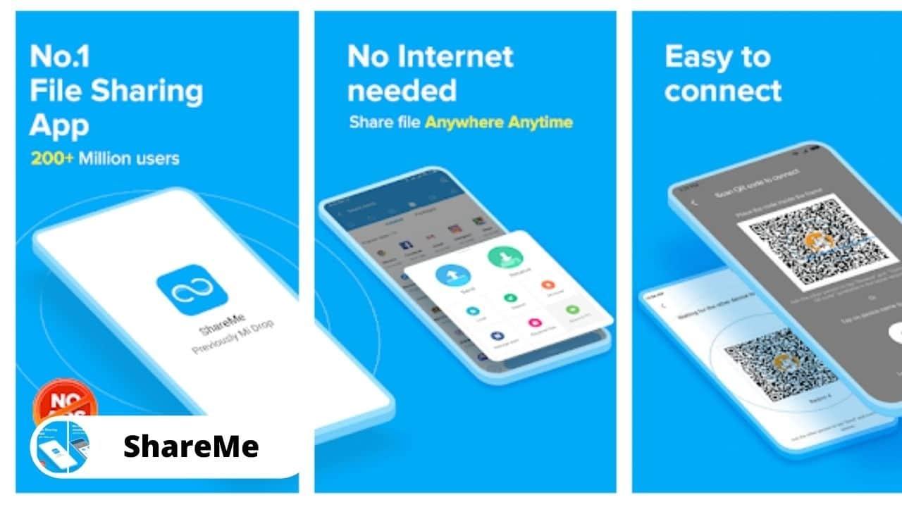 ShareMe - Best Alternative Apps For SHAREit