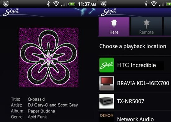 Skifta DLNA Streaming Apps For android