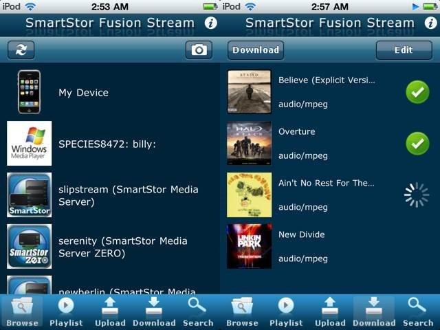 SmartStor Fusion Stream