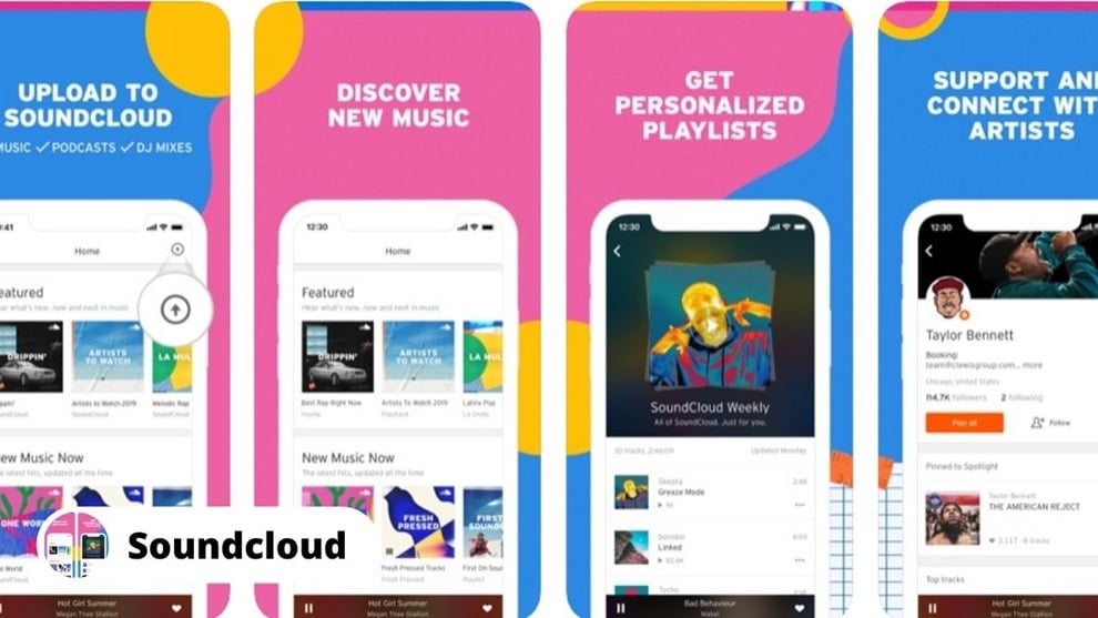 SoundCloud - Download Free Music on iPhone