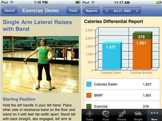 SparkPeople Diet & Food Tracker apps - Fitness Apps for iPhone