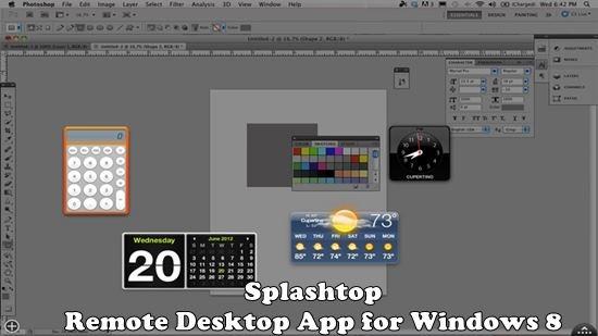 Splashtop - Remote Desktop App for Windows 8