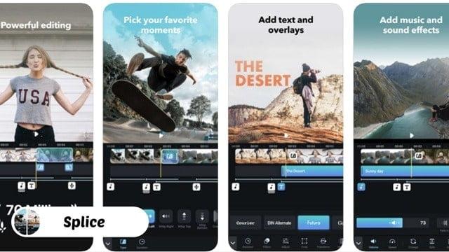 Splice Video Editing Apps