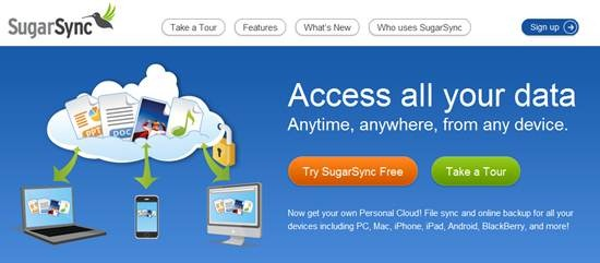 Sugarsync online backup service