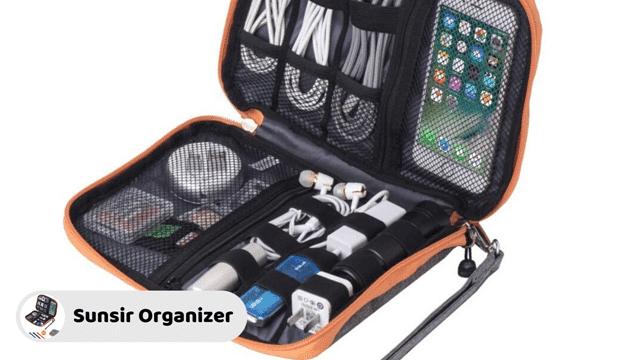 Sunsir Travel Cable Organizer Bag