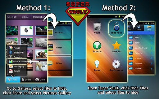 Super Vault 1 - Best Photo Locking Apps for Android