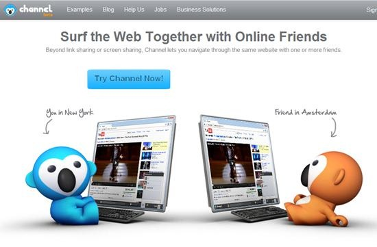 Surf the Web Together with channel-me