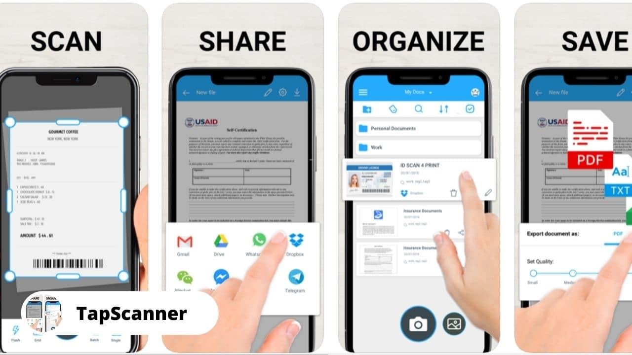 TapScanner - Best Alternative Apps for CamScanner