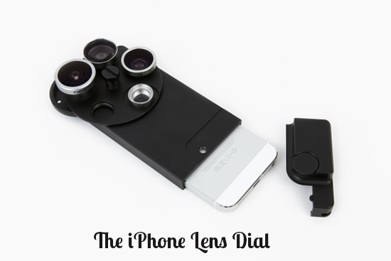 The iPhone Lens Dial - lenses for iphone photography