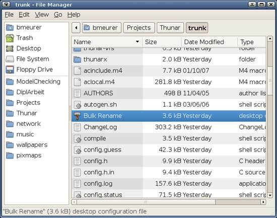 Thunar Best Free File Managers for Linux