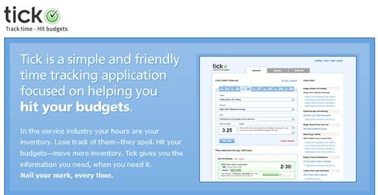 Tick - time tracking software