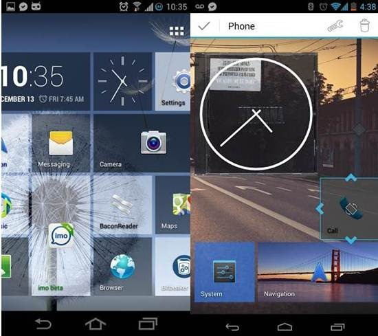 Tile Launcher for android 1