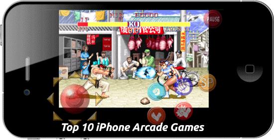 Top 10 iPhone Arcade Games