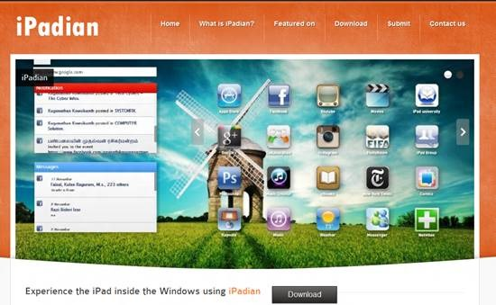 Transform Windows 7 into iPad with iPadian (1)
