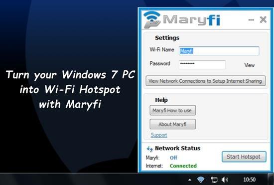 Maryfi Wifi router