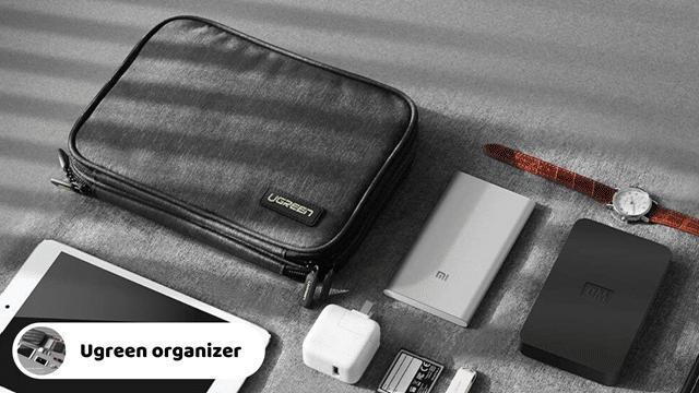 Ugreen Portable cord organizer travel case