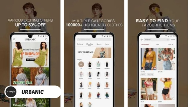 Urbanic - Best SHEIN Alternatives for Android