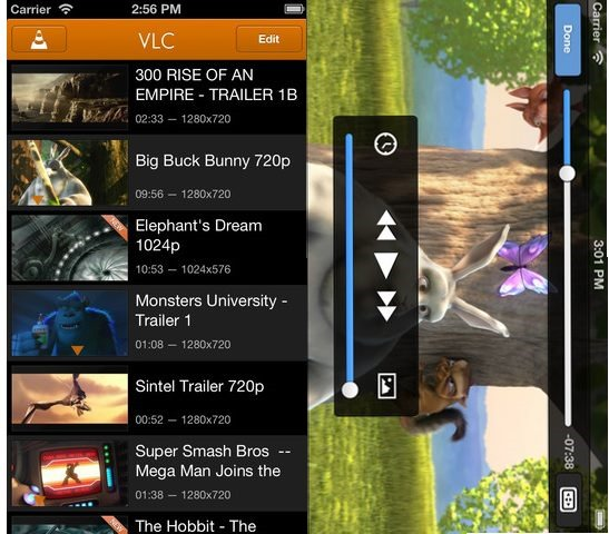 VLC - Best video player for iPhone
