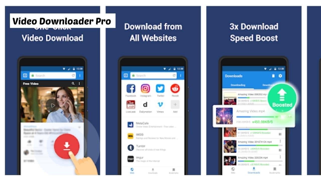 Video Downloader Pro - Best Alternative App for Vidmate