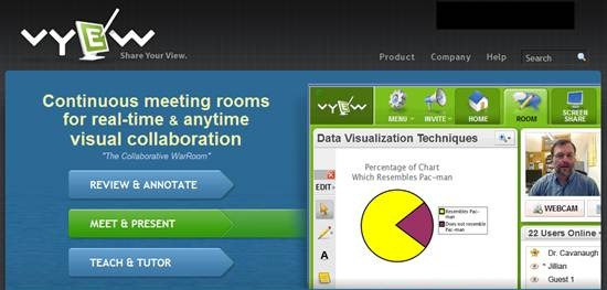 Vyew - Real Time Web Conferencing tool