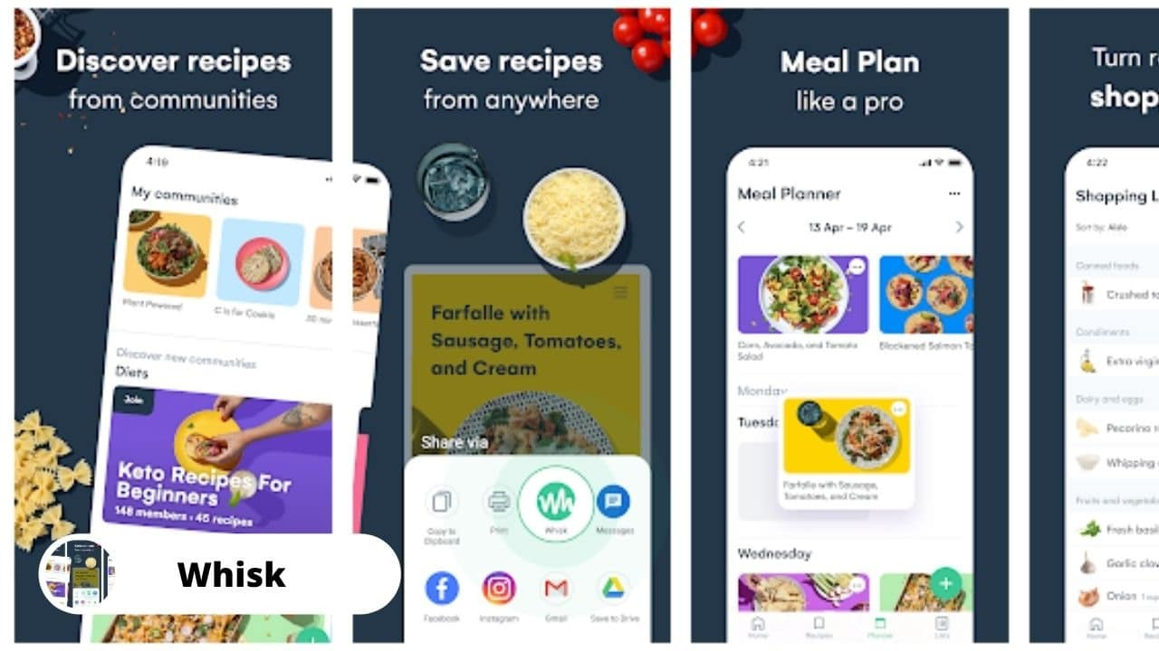 Whisk Recipe Manager