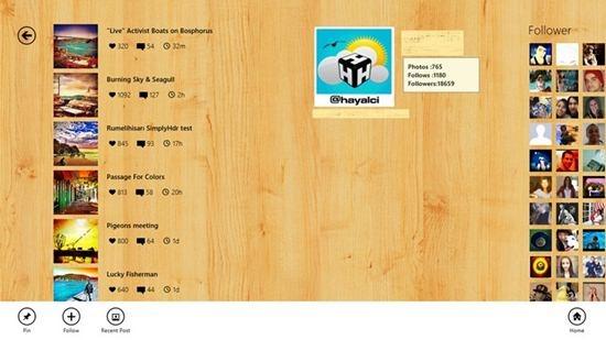 Wingram – Windows 8 App for Instagram