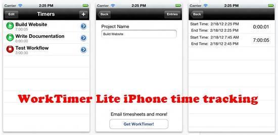 WorkTimer Lite