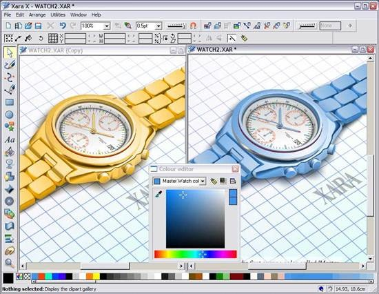 Xara Xtreme - open source graphic software for Linux