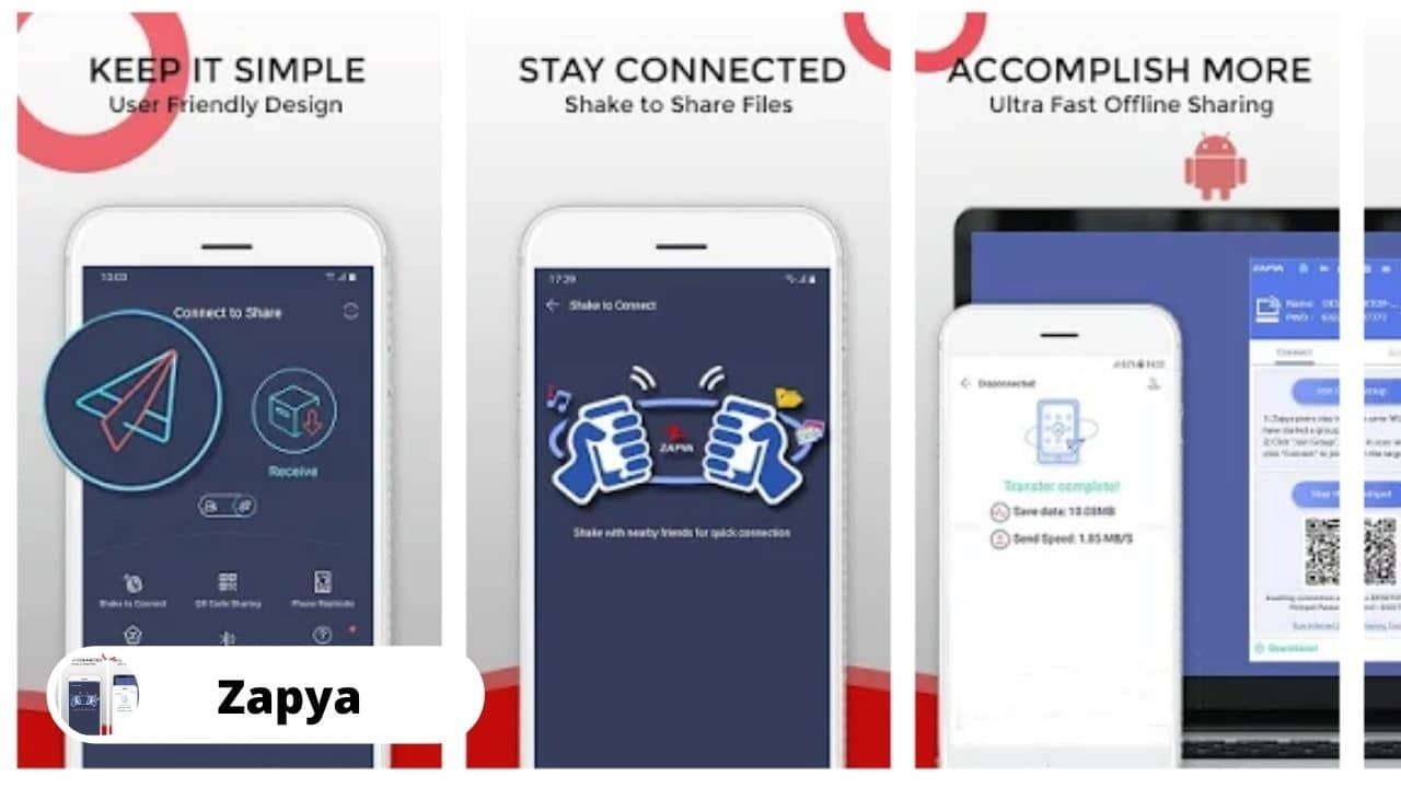 Zapya - Best Alternative Apps For SHAREit
