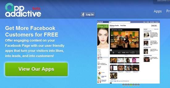 appaddictive Custom Facebook page builder