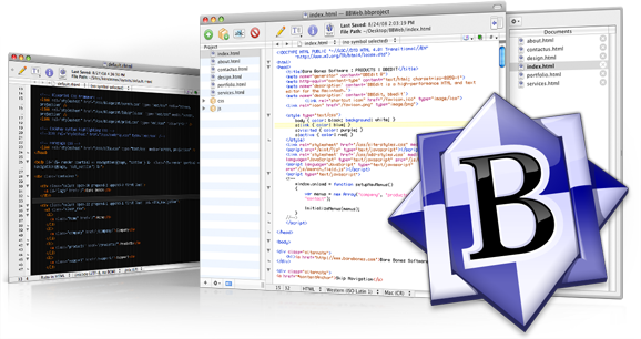 bbedit Text editor for MAC