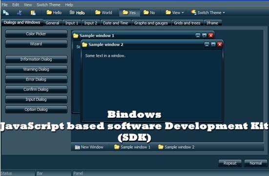 bindows ajax framework