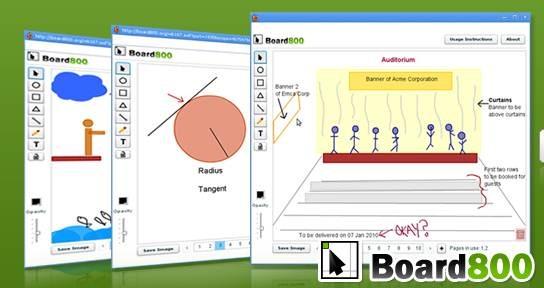board800 - Best Free Online Collaborative Whiteboard