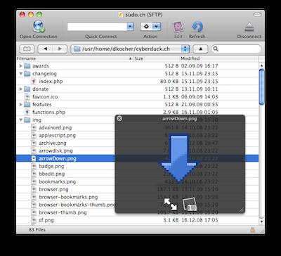 cyberduck - Best Web development tools for Mac
