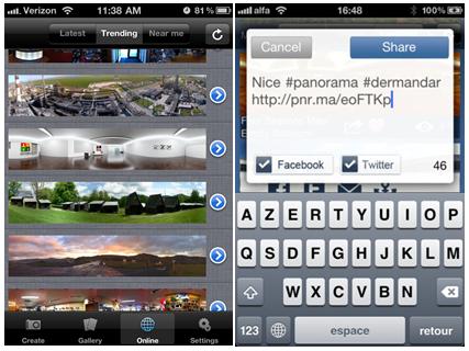 dermandar free panorama creating tool