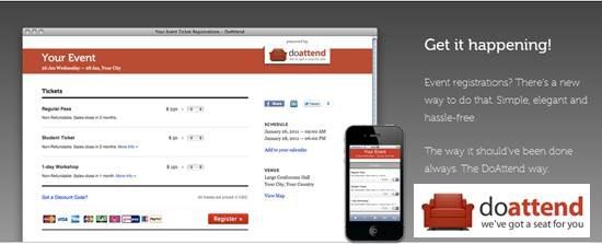 doattend online event registration app
