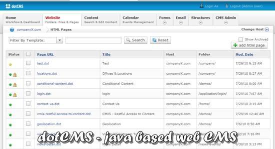 dotCMS - Open source Java CMS