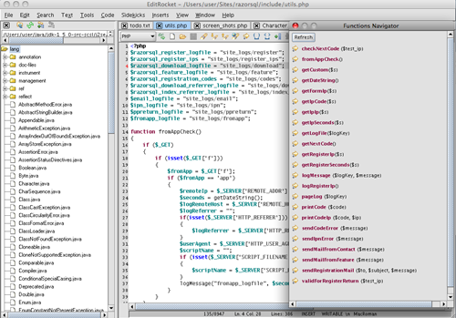 editrocket - Best Web development tools for Mac