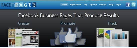 faceitpages Custom Facebook page builder