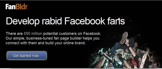 fanbldr Facebook page builder