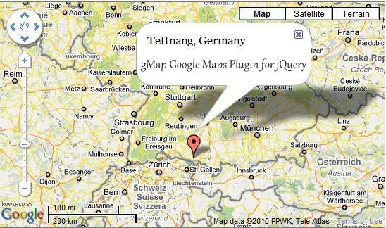 gMap - Google Maps Plugin for jQuery