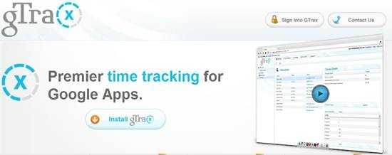 gTrax time tracking tool