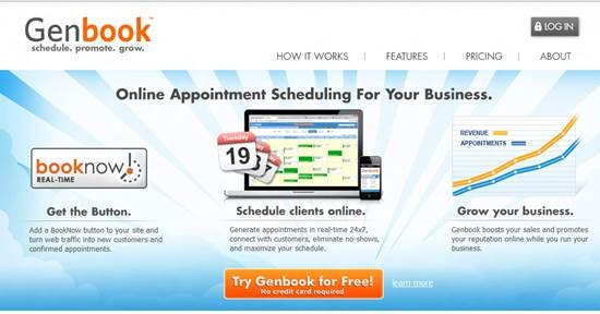 genbook - online appointment scheduling software