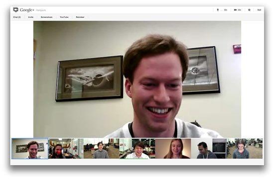 Google Hangout - Best Skype Alternatives Apps