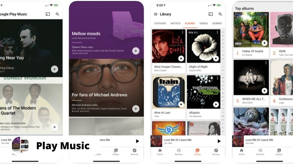 google play music - Download Free Music on iPhone