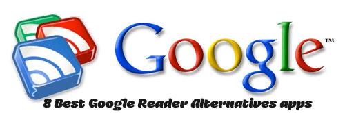 8 Best Google Reader Alternatives apps