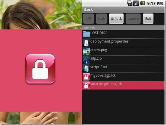 iLock photo locking apps