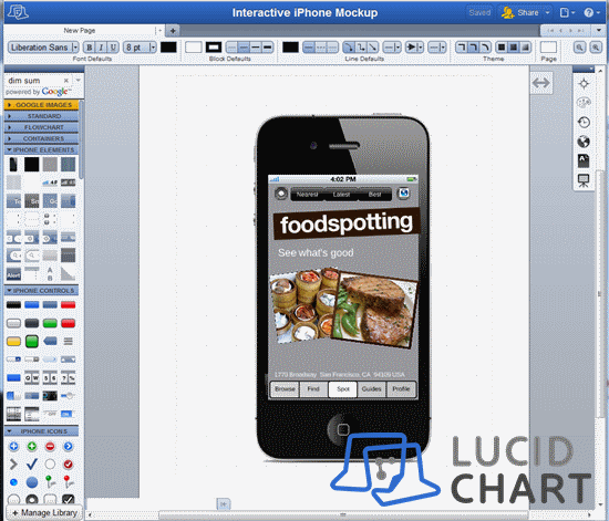 iPhone_mockup - lucidchart